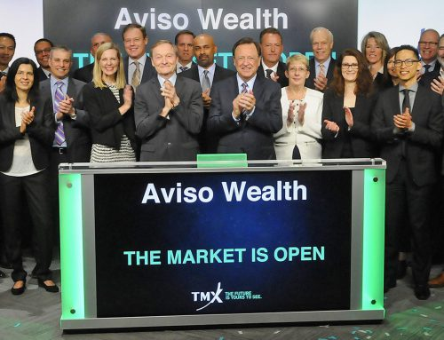 Aviso Wealth opens trading at Toronto Stock Exchange